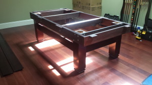 Correctly performing pool table installations, Cedar Rapids Iowa