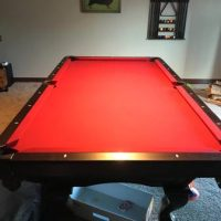 Brunswick Contender 8' Pool Table