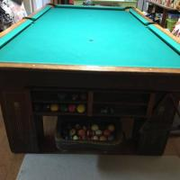 9' Wendt Classic Pool Table For Sale